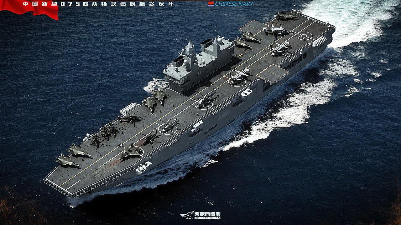 军机处第158期 航母海试,两栖攻击舰也快有消息了!