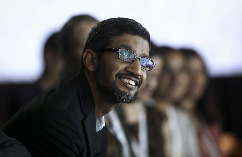受限股本周解禁 谷歌CEO皮查伊将入账3.8亿美元