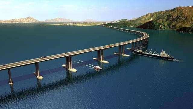 港珠澳大桥ETC通道 仅0.3秒完成过闸扣费