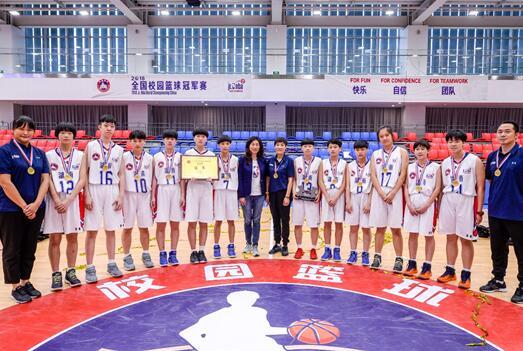 全国校园篮球冠军赛圆满落幕,湖南女队与江苏男队折桂