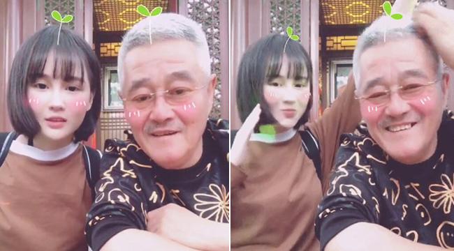 赵本山罕见与女儿同框 两人录搞怪视频欢乐满满