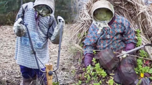 日本此村让布偶代替死人生活,如今村里的假人比活人还多