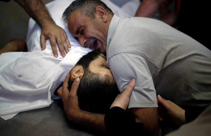 耶路撒冷再引巴以冲突 以军开枪致52死2400伤