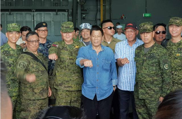杜特尔特:中国不会坐视菲律宾被摧毁