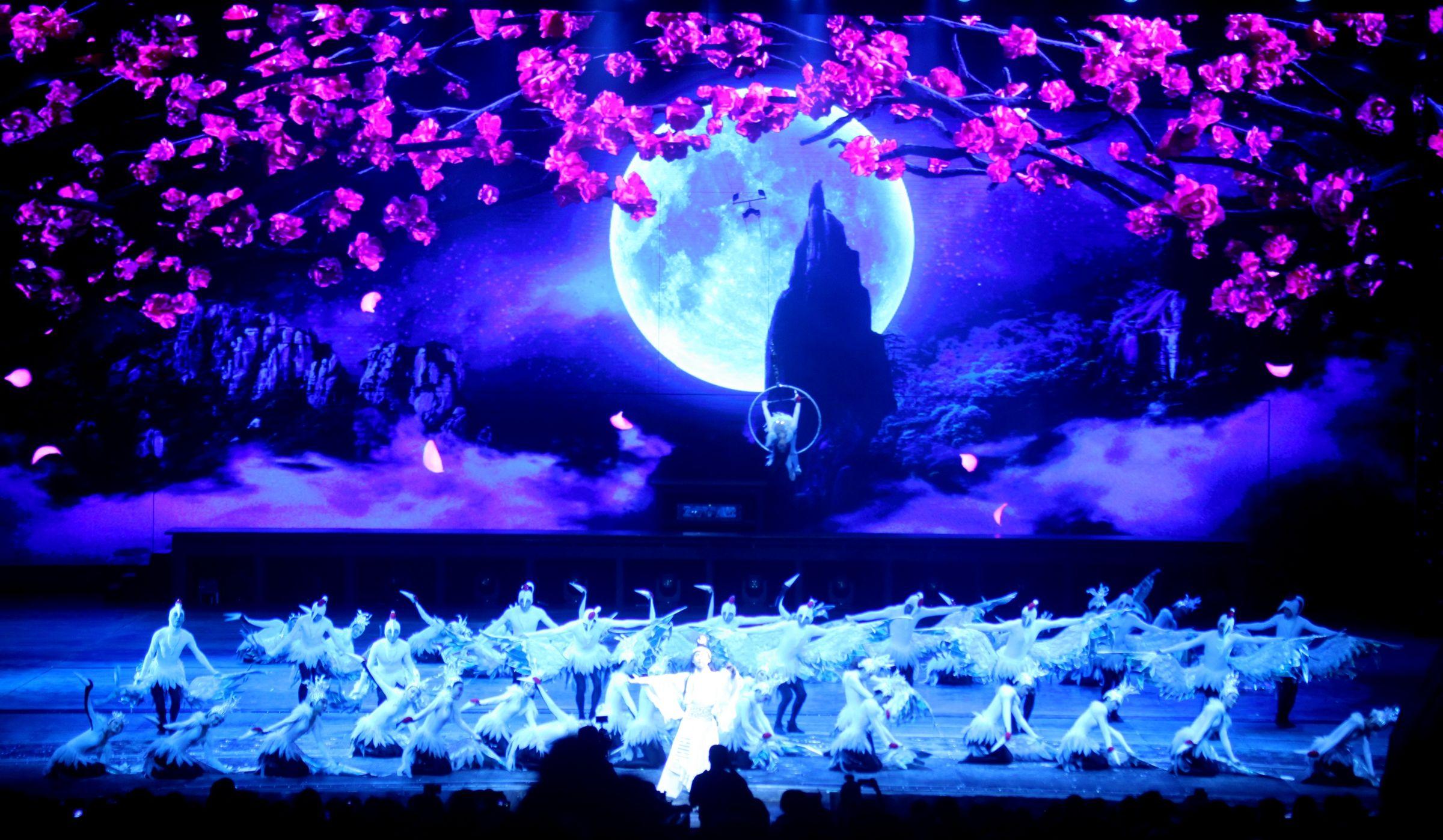 中国旅游日三清山《天下三清》首次震撼上演