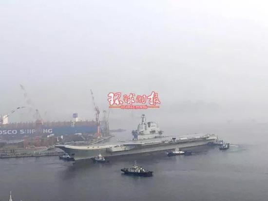 国产航母6:45离开码头海试 - 春华秋实 - 春华秋实 开心快乐每一天