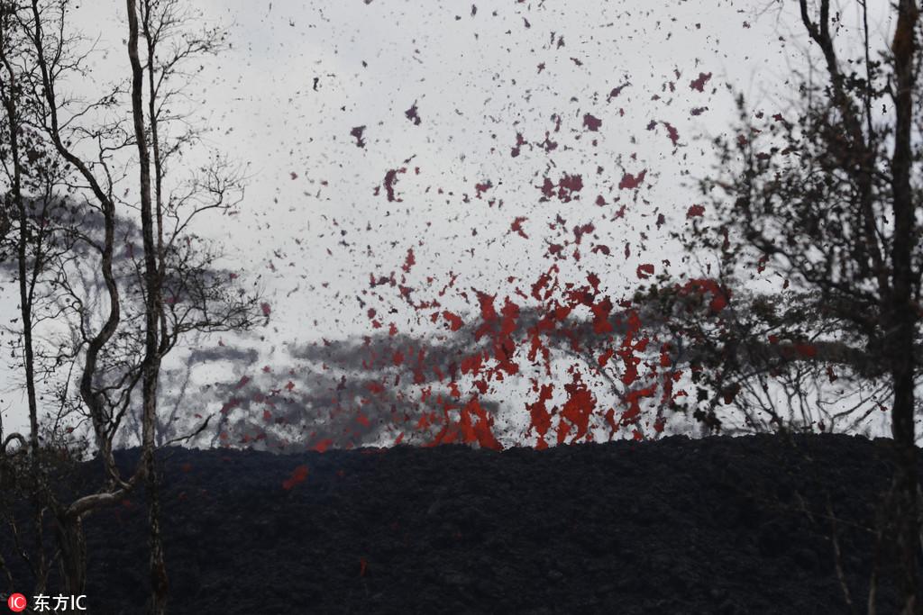 夏威夷火山喷发 数千人已被疏散