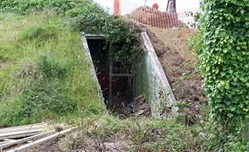 女子买下一荒废73年的地堡 5年后内景让人惊讶