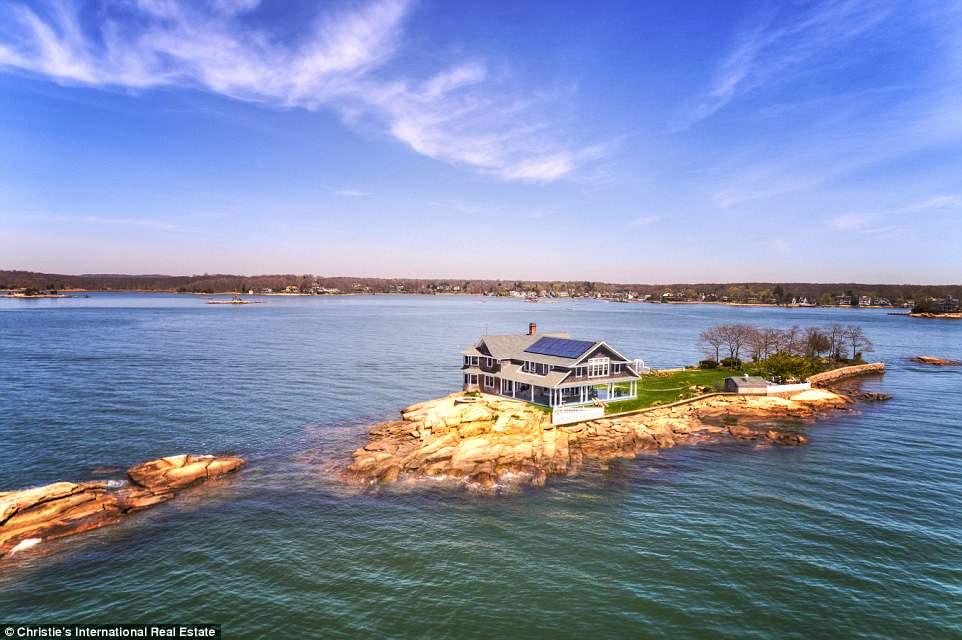 一个价值490万美元的私人岛屿