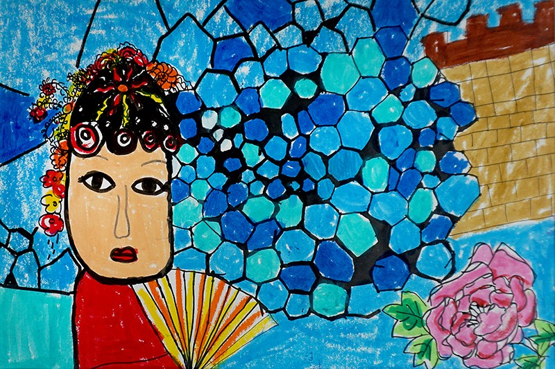 """""""世界那么大,中国是我家""""儿童公益画展国际巡展首站开启"""