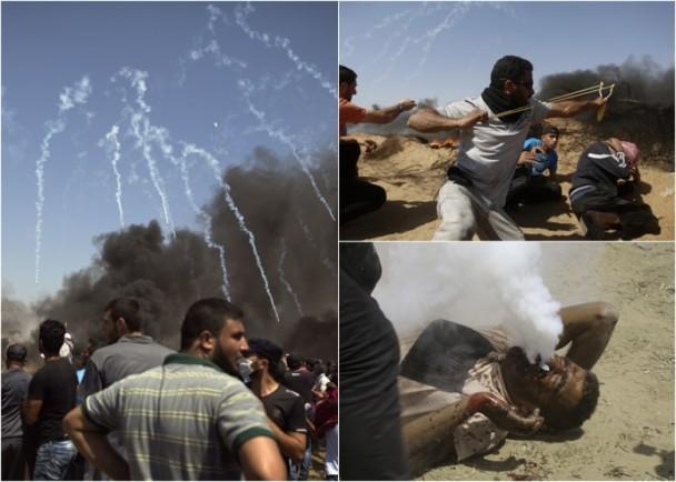 加沙再爆冲突,4死逾600伤摄记不能幸免