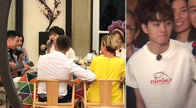 《中餐厅2》杀青王俊凯落泪 告别时与舒淇同框弹唱
