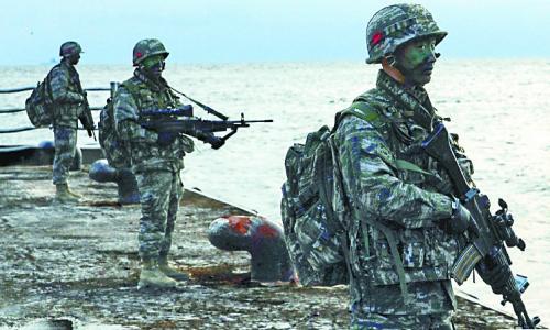 日本连番抗议韩国独岛军演 害怕韩国越来越强硬
