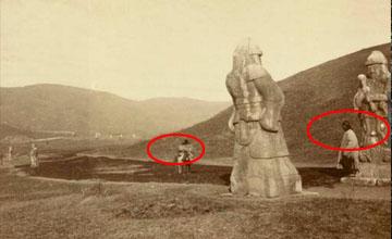 100年前清末照片曝光 走近查看受到惊吓!