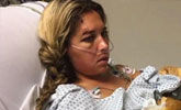 惊魂一刻!美国女子乘滑翔伞庆生 绳索断裂受重伤