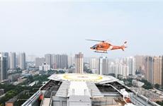 西北首个智能化医院 楼顶停机坪系统启用