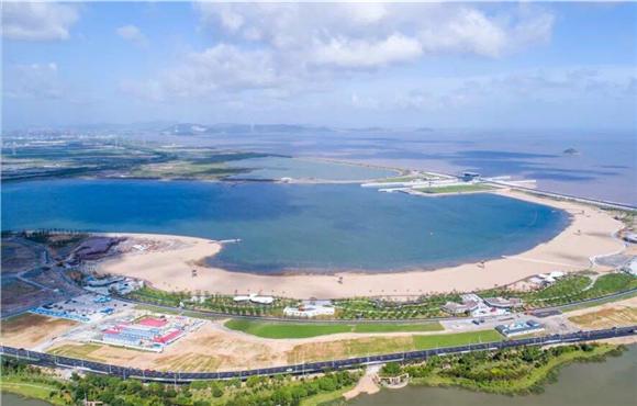 下周一 梅山湾沙滩公园将首次开放700米沙滩