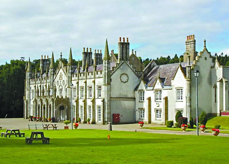 爱尔兰有个开放式城堡监狱