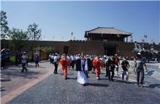 中国?周原景区开幕 万名游客跨时空体验周文化