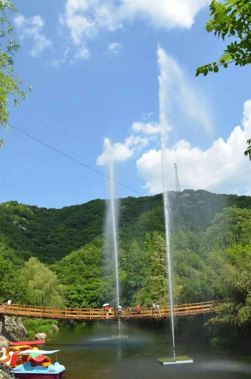 美景,玩乐,戏水,捉鱼,呐喊 神灵寨风景区要承包你整个