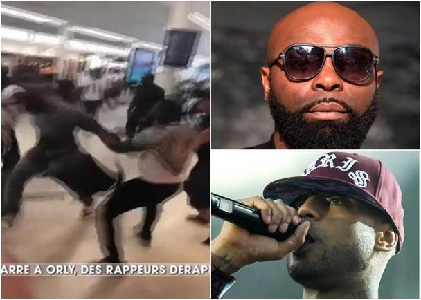 两名嘻哈歌手在机场真人battle 双双被警察带走