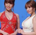 日本两女神同框比美