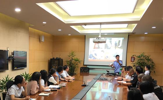 渤海银行温州分行开展消防安全知识培训