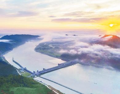 高峡出平湖 峡江打造玉峡湖湿地公园