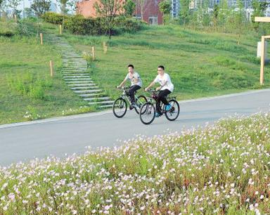 长沙将建成425.6公里自行车道 市民出行更舒心
