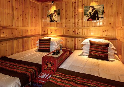 安果特色藏式民宿 撬动甘南旅游经济图片