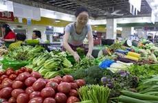八月份全国居民消费价格指数同比上涨2.3%