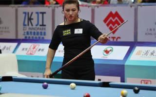 付小芳夺世界9球中国公开赛女子组冠军