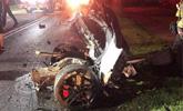 在美21岁中国留学生酒局后驾车撞树身亡 车成两半