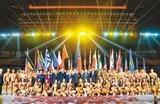 """首个""""一带一路""""世界健美大赛在西安惊艳开幕"""