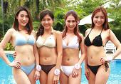 亚洲小姐泳装秀 身材火辣