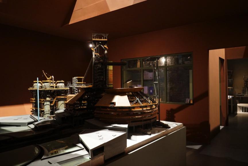 首钢园区及三高炉博物馆城市复兴成就展隆重开幕