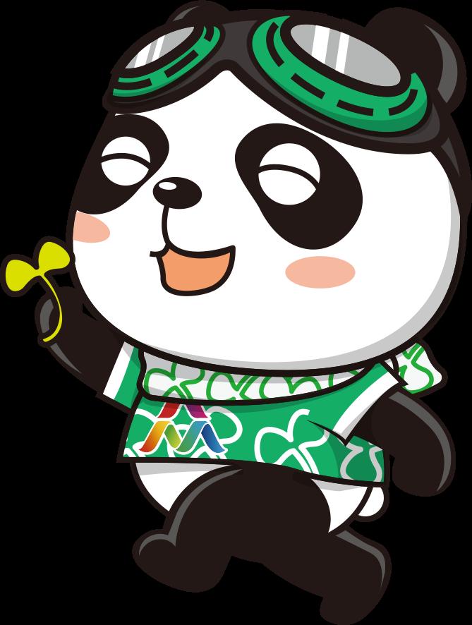 """蓉蓉 吉祥物""""蓉蓉""""的形象是一只佩戴哈雷风镜的熊猫,有不同颜色、不同造型。其哈雷风镜象征着勇于探索的创客精神和乐观开放的创客文化,丰富多彩的颜色元素寓意为创客追逐实现多彩的创业梦想,传递分享多彩的创意生活。"""