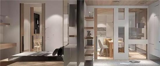 温馨改造38㎡最小户型 为四口漂泊之家安居