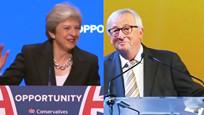 """歐洲政壇刮起尬舞風! 梅姨剛跳完""""機器舞""""歐盟主席也開始跳了"""