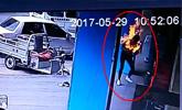 男子长期家暴泼汽油烧伤妻子还旁观 一审被判死