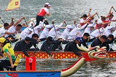 視頻|合川世界級龍舟賽開幕
