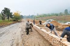 长安区违建项目变公园:基础设施建设进展顺利