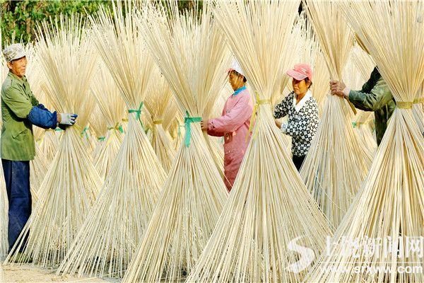 婺源县:竹制品加工(图