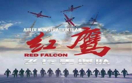 """中国空军""""红鹰""""进行飞行表演"""