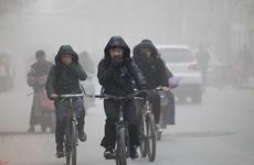 近期西安中至重度污染天气 市民应做好健康防护