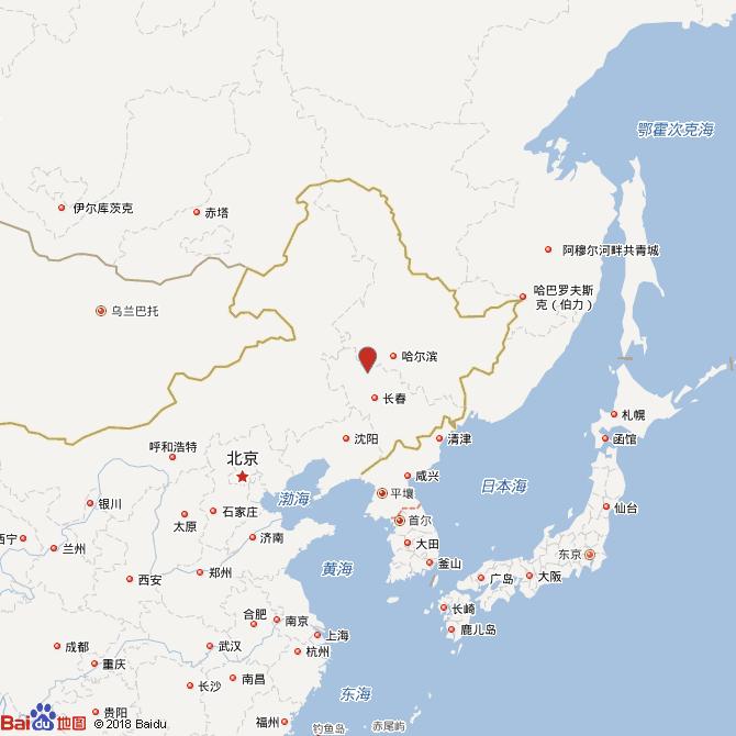 吉林松原市宁江区发生4级地震