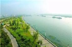 氵皂河长安段下游全面完成清淤 打造清水河民生河