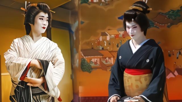 探寻日本艺伎的隐秘世界 其实最早的艺伎都是男人
