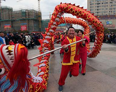 安徽五河:传承民俗喜闹元宵