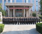 升國旗 唱國歌 商丘中院干警共慶中國共產黨成立98周年